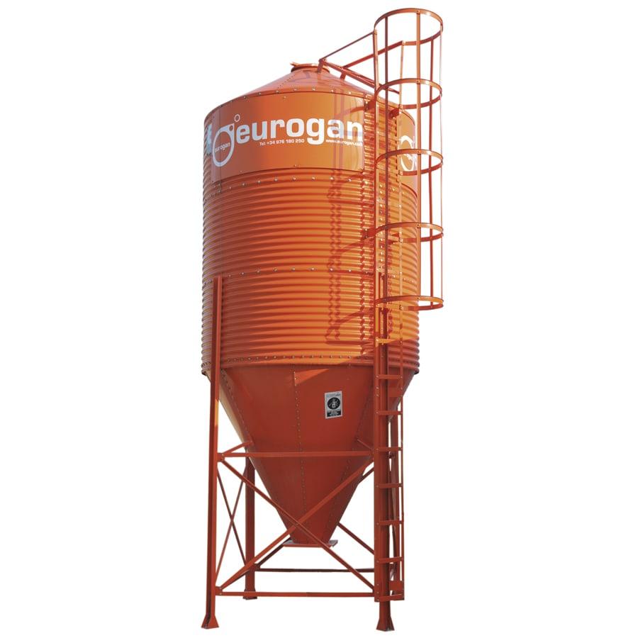 Silos de chapa galvanizada ondulada transporte de alimentaci n for Chapa ondulada galvanizada